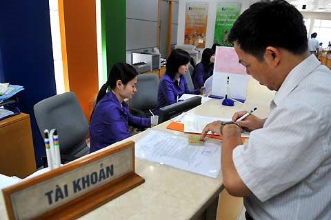 Thay đổi mẫu đăng ký tài khoản ngân hàng