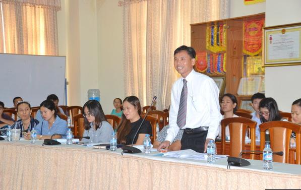 Ông Nguyễn Ngọc Tuấn, phó chủ tịch Hiệp hội Xuất nhập khẩu kế toán Đồng Nai